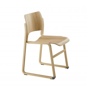 howe wooden chair, wooden church chair, howe 40/4, stacking wooden chair