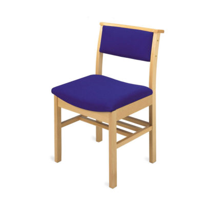 Classic Wooden Chapel and Church Chair   Chapel Chairs   A1L