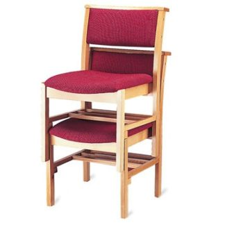 Stacking Classic Wooden Chapel and Church Chair | Wooden Church Chairs | A1LS