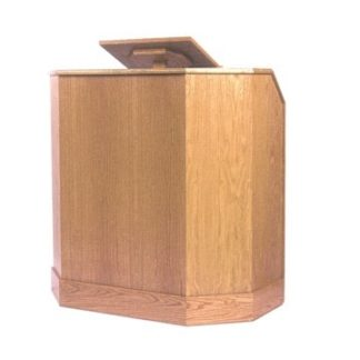 Adjustable Pulpit in Wood Veneer | Lecterns | AP1