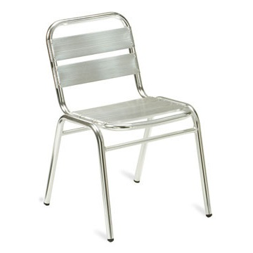 Outdoor Bistro Aluminium Stacking Cafe Chair | Cafe Chairs | BCA