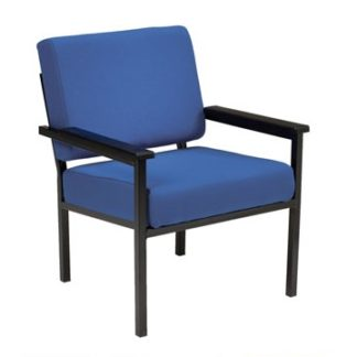 Soft Seating Easy Chair Metal Frame With Arms | Reception and Lounge Seating | BEM1A