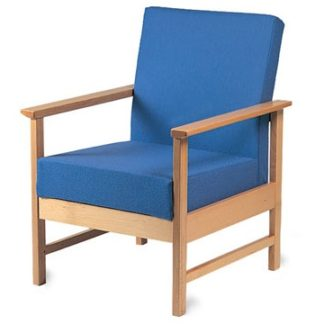 Soft Seating Easy Wooden Framed Armchair | Library Chairs | BEW1A