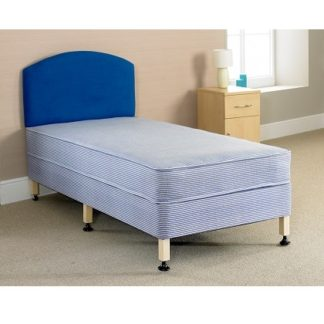 HORDEN Contract Flat Panel Bed and Mattress Set - Single, 3/4 Double or Double | Beds and Mattresses | BIHODS
