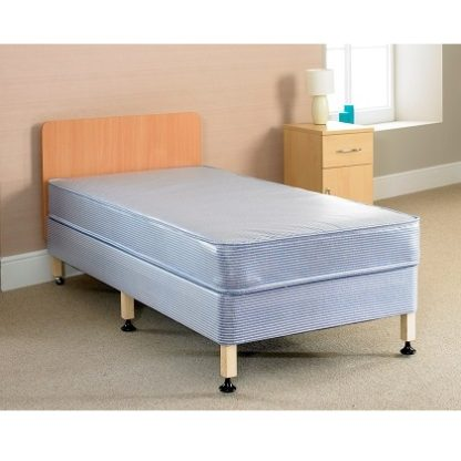 THORNLEY Contract Water Resistant Bed and Mattress Set - Single, 3/4 Double or Double | Beds and Mattresses | BITHDS
