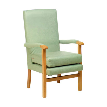 CORONATION Classic Styled High Back Chair (Essentials Range) | Bedroom Chairs | BL1