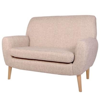 Modern Styled 2 Seater Sofa Alpha