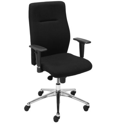 Office chair with 8+ hour mechanism - vinyl or fabric finish | Boardroom Seating | BR1