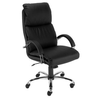 Office chair with 8+ hour mechanism - vinyl or fabric finish | Boardroom Seating | BR14