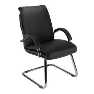 Office chair with 8+ hour mechanism - vinyl or fabric finish | Cantilever Seating | BR14C