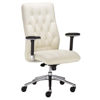 Office chair with 8+ hour mechanism - vinyl or fabric finish | Boardroom Seating | BR16