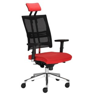 Office chair with 8+ hour mechanism - vinyl or fabric finish | Receptionist Seating | BR2