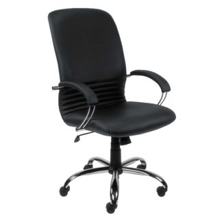Office chair with 8+ hour mechanism - vinyl or fabric finish | Boardroom Seating | BR3