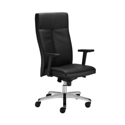 Office chair with 8+ hour mechanism - vinyl or fabric finish | Boardroom Seating | BR7