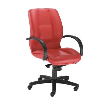 Office chair with 8+ hour mechanism - vinyl or fabric finish | Boardroom Seating | BR8L