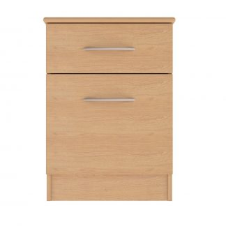 Coventry Range 1-Drawer 1-Door Bedside Table | Bedside Tables | BRBB1D