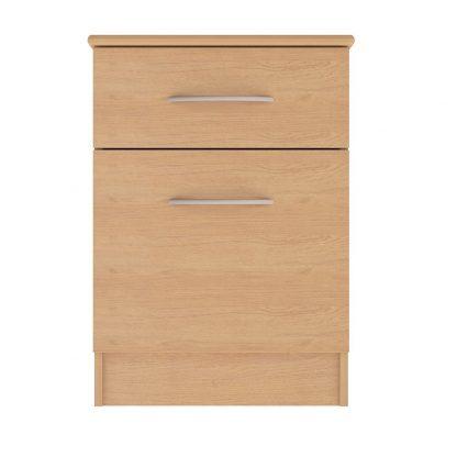 Coventry Range 1-Drawer 1-Door Bedside Table | Bedside Tables | BRBB1D