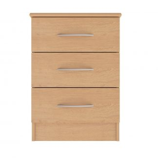 Coventry Range 3 Drawer Bedside Table | Bedside Tables | BRBB3