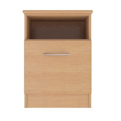Coventry Range Shelf + 1-Door Bedside Table | Bedside Tables | BRBBSC