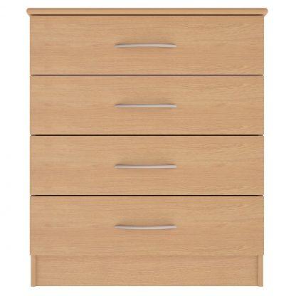 Coventry Range 4-Drawer Wide Chest | Coventry Bedroom Range | BRBSET