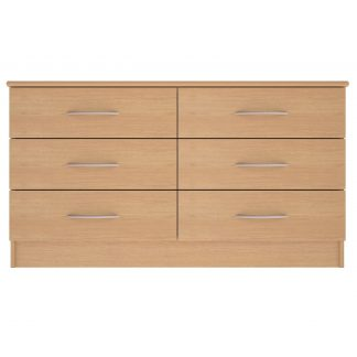 Coventry Range 6-Drawer Wide Chest | Coventry Bedroom Range | BRBC6W