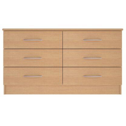 Coventry Range 6-Drawer Wide Chest | Coventry Bedroom Range | BRBC6W