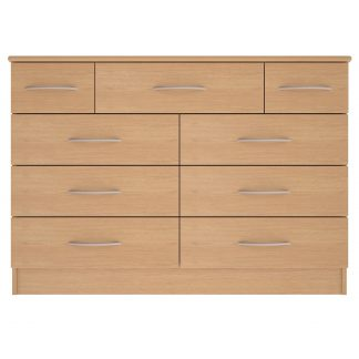 Coventry Range 9-Drawer Wide Chest | Coventry Bedroom Range (10 Day Express Delivery) | BRBC9W