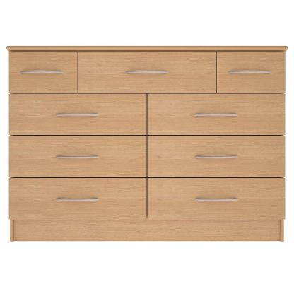 Coventry Range 9-Drawer Wide Chest | Coventry Bedroom Range | BRBC9W