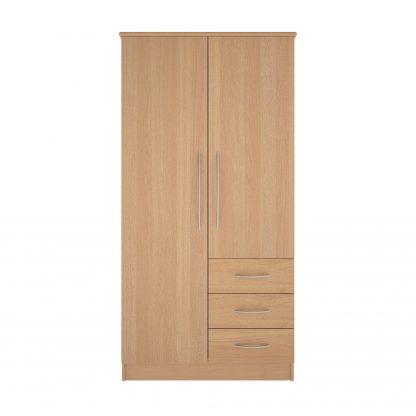 Coventry Range Combination Robe - Single Full Length Door | Coventry Bedroom Range | BRBWCR
