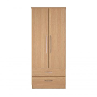 Coventry Range Gents Robe - Double Door and Two Drawers | Coventry Bedroom Range | BRBWGR