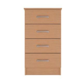 Standard Range 3-Drawer Narrow Unit | Bedside Tables | BRC4NB