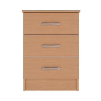 Standard Range 3-Drawer Narrow Unit | Bedside Tables | BRCB3