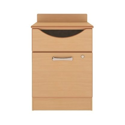 Oxford Dementia Bedside Table with Drawer and Door | Dressing Tables | BRDBT