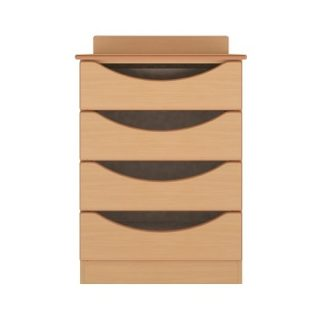 Oxford Dementia Bedside Table with Drawer and Door | Drawer Chests | BRDC2