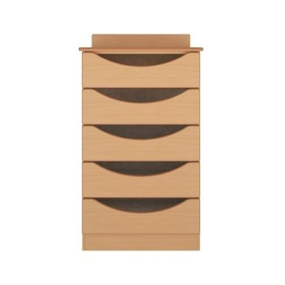 Oxford Dementia Bedside Table with Drawer and Door | Drawer Chests | BRDC3
