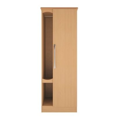 Oxford Dementia Bedside Table with Drawer and Door | Oxford Dementia Range | BRDW1