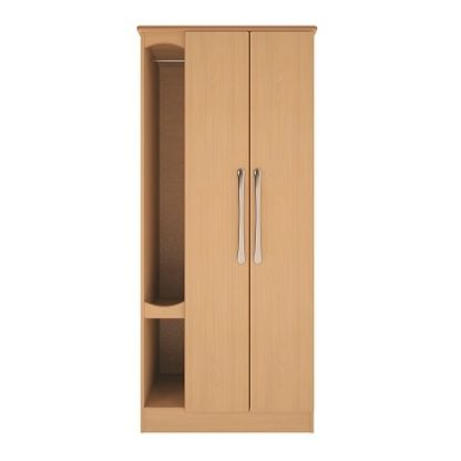 Oxford Dementia Bedside Table with Drawer and Door | Oxford Dementia Range | BRDW2