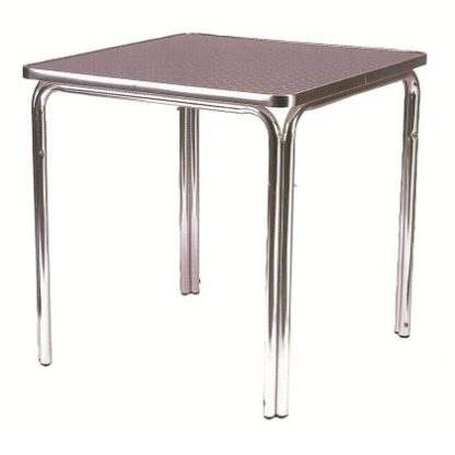 Stacking Outdoor Aluminium Bistro Cafe Table - Square 600mm | Outdoor Tables | BTAS02