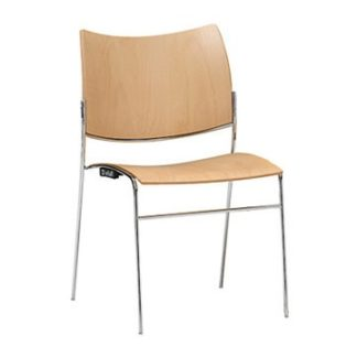 Canterbury Four Leg with Beech Seat and Back | Conference Chairs | CFB