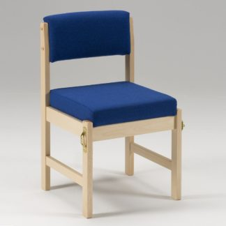 Crematorium Side Chair with Book Box | Chapel Chairs | CREM
