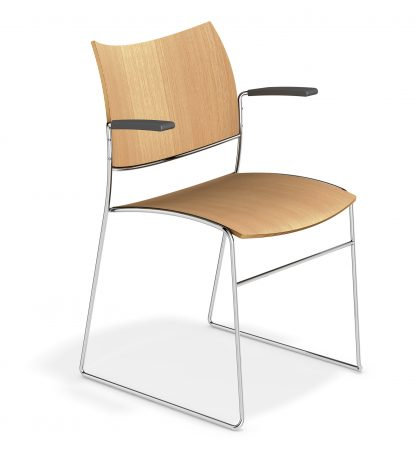 Canterbury Curvy Stacking Contemporary Cathedral Chair | Cathedral Range Chairs | CSB