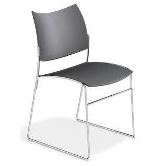 Canterbury Four Leg with Beech Seat and Back | Conference Stacking Chairs | CSP