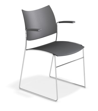 Canterbury Curvy Stacking Contemporary Conference Chair | Church Chairs | CSPS