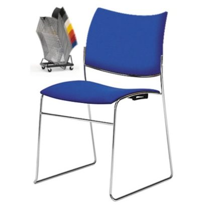 Canterbury Curvy Stacking Contemporary Conference Chair | Conference Chairs | CSU