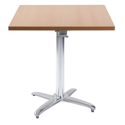 LEXi Flip-Top Cafe Table - Square or Round MFC Top | Cafe Tables | CTFT