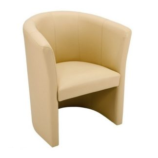 Budget Tub Chair Faux Leather | Cafe Chairs | DRJ