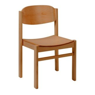 Stacking All Wood Chapel and Church Chair | Cathedral Range Chairs | E4S