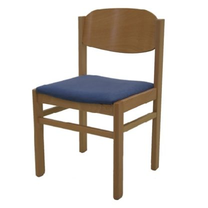 Non Stacking Wooden Chapel and Church Chair | Library Chairs | E4U