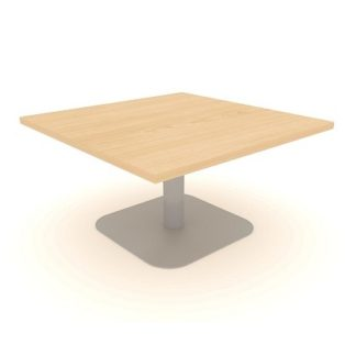 Square Centre Pedestal Coffee Table | 800mm | Reception Coffee Tables | EBOCS