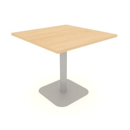 Square Centre Pedestal Meeting Table 600mm/800mm/1000mm MFC Finish | Meeting Tables | EBOMS